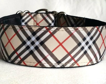 """Martingale Dog Collar, 1.5"""" or 2"""" -  """"Furberry"""" - Style Options Available"""