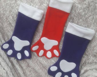Christmas Paw Stockings