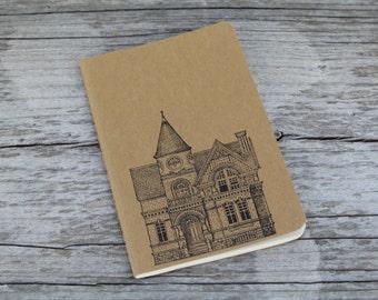 Mini Victorian Building Architecture Journal