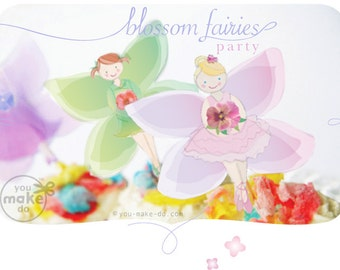 INSTANT DOWNLOAD fairy party printables, fairy party, fairy decorations, fairy birthday, fairy baby shower, fairy party decorations