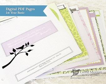 Digital - Baby Memory Book - Basic 1st Year