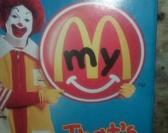 "McDonald's ""That's my Ronald"" Cassette Tape"
