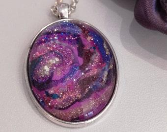 """Necklace """"The nebulae"""""""