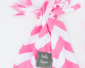 pink baby fringe HAT infant toddler hat. beanie. cotton jersey knit. lightweight summer hat