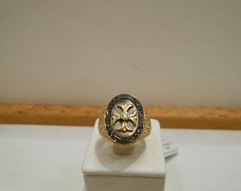 BYZANTINE style ring
