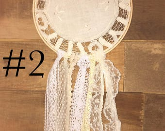 "6"" doily dream catcher"