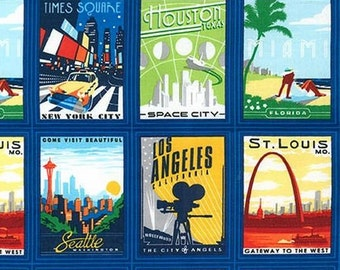 Kaufman - Explore America - Cities Panel
