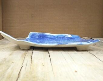 Blue Medium Platter