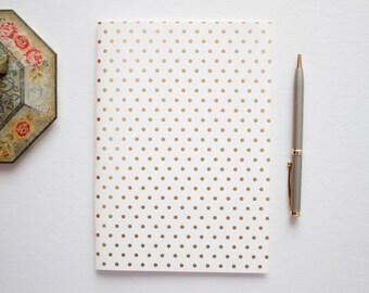 wedding reception book, writing journal, prayer journal, travel journal, gold foil journal, gold foil sketchbook, blank journal, small