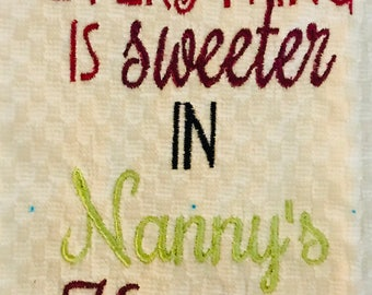 Kitchen Towel - embroidered