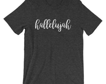 Hallelujah Tee | Hallelujah T Shirt | Hallelujah | Christian Gifts | Christian T Shirts | Christian Shirts | Christian Gifts for Women