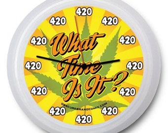 "9"" ""420"" Wall Clock"
