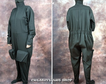 Flight Suit for Bounty Hunters Mandalorian Boba Jango Fett Admiral Daala