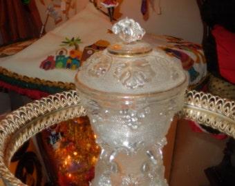 GLASS JAM JAR with Lid