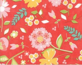 Flower Mill Bloomy Poppy by Corey Yoder of Moda Fabrics Fabric Yardage