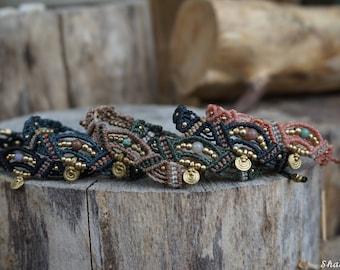 Tri-colored Macrium bracelet