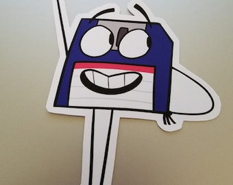 Floppy Disk Sticker