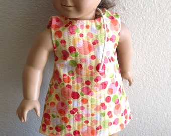 """Dress Made to fit 18"""" Dolls Such as American Girl Item #103"""