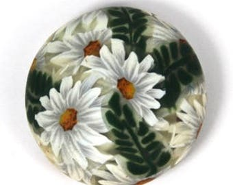 Polymer Clay Daisy, Fern, Bubble, and Sunflower Cane Tutorial