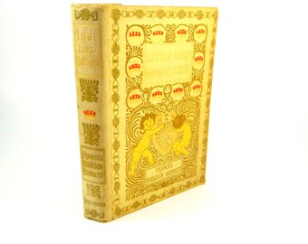 Antique Little Lord Fauntleroy by Frances Hodgson Burnett from 1907, Hardcover Book