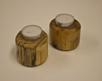Rustic Tealight Candle Holder