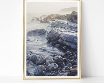 Ocean Print, Coastal Art Print, Ocean Printable, DIGITAL DOWNLOAD Art, Landscape Print, Coastal Decor, Living Room Wall Art, Wall Decor