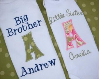 Big Sister Shirt - Big Sis Shirt - Big Brother Shirt - Big Sister Little Brother Shirts