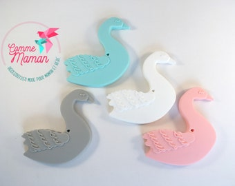 SWAN teething accessory / teething toy / silicone toy / baby teething toy