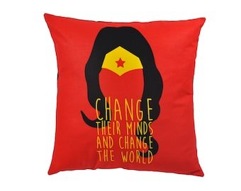 Wonder Woman Pillow cover - Home Decor