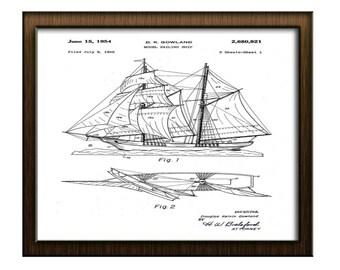 Model Sailing Ship,