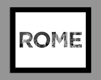 Digital Download Rome Roma Coliseum 8x10 or 11x14