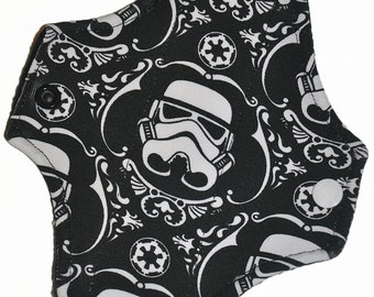 Liner Core- Storm Trooper Knit Reusable Cloth Petite Pad- 6.5 Inches