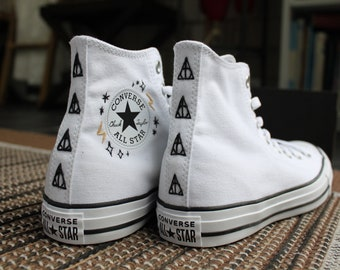 Harry Potter Embroidered Converse