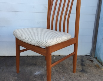 Solid Teak Benny Linden Dining Chairs Sold Individually 5 Available