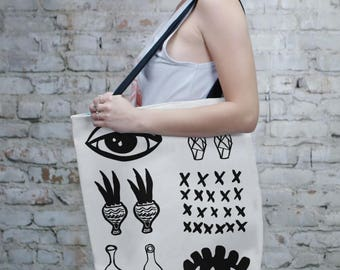 Art Tote Bag, Bag, Black and White, Totes, Reusable, Beach Bag, Bags, Tote Bags, Tote, Big Tote Bag, Grocery Bag, Shoulder Bag