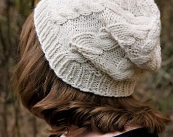 Bermia Hat Knitting Pattern ONLY