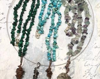 Roman glass pendant