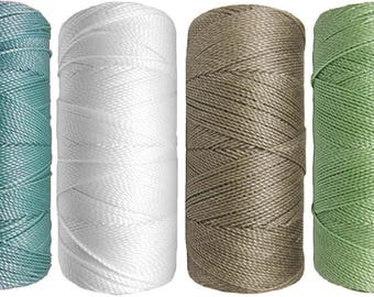 Thread nabbed macrame - Linhasita - winter