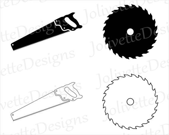 saw blade saws blades tools clip art clipart design svg rh etsy com saw clipart saw clipart