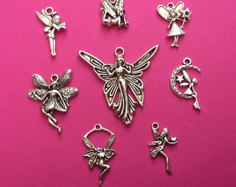 The Fairy Charm Collection Antique Silver - CC010