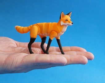In stock. A Fox BJD. 5 cm at the withers.
