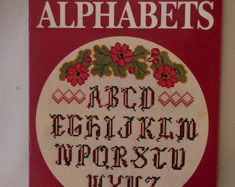 Plain & Fancy Alphabets Counted CrossStitch....10 different