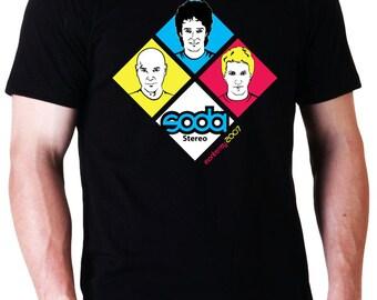 Soda Stereo Monterrey 2007 T-Shirt  (Ready to ship)