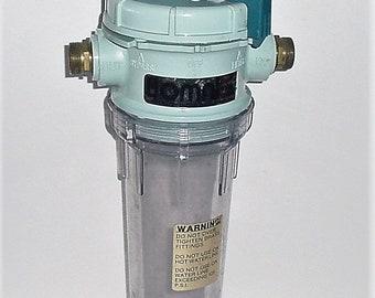 Under Sink WATER FILTRATION  Omni Clean Water System US Pat. #3935106 Vtg 1970's
