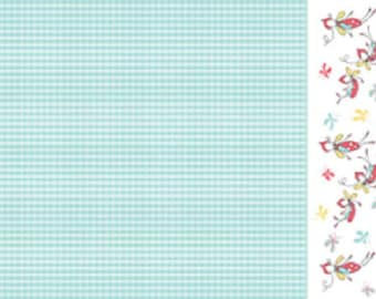 Blue Butterfly Border by Riley Blake Designs 112cm (w) x 25cm
