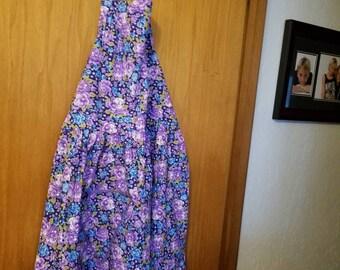 Apron Purple Floral