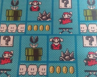 Super Mario Brothers 8 lb 42 x 54 weighted blanket