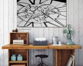 Hermes sign, Hermes scarf black canvas art/bathroom wall decor/office decor Hermes logo/Hermes scarf decor/shabby chic decor/large wall art
