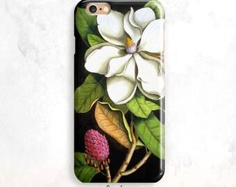 iPhone 8 Case, Vintage Flower iPhone 7 Case, Floral iPhone X Case, iPhone 8 Plus, iPhone 7 plus, Floral iPhone 6S Case, Flower iPhone 5 Case