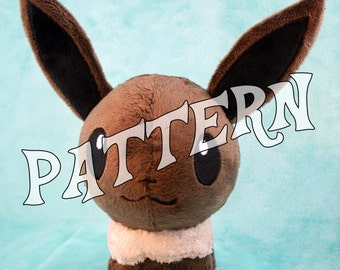 PATTERN ~ Eevee Pokedoll Style Plushie Pattern
